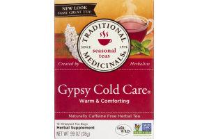 Traditional Medicinals Seasonal Teas Gypsy Cold Care Tea Bags - 16 CT