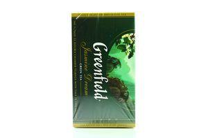 Чай зеленый Jasmine Dream Greenfield к/у 25х2г