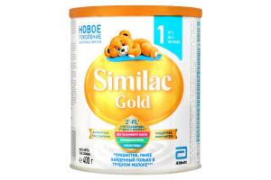 Смесь адаптированная сухая молочная для детей от 0 до 6мес Gold 1 Similac ж/б 400г