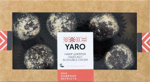 Набір цукерок Hazelnut in double cocoa Yaro к/у 120г
