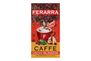 Кофе Crema Irlan мол вак Ferarra 250г