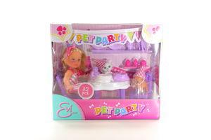 Набір ляльковий Simba Еві Вечірка для домашніх улюбленців з ласощами тааксес 3+