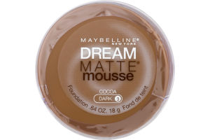 Maybelline New York Dream Matte Mousse Cocoa Dark 3