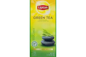 Lipton Green Tea Bags - 28 CT