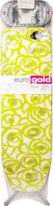 Доска гладильная EurogoldBasic метал+розетка110х30