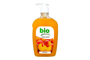 Крем мило Bion Персик Bio Naturell 500мл