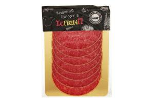 Колбаса Casaponsa Салями Таннел с сыром c/в слайс