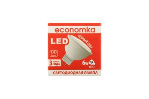 Лампа світлодіодна Economka LED MR16 6W GU5.3 2800K 1шт