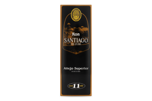 Ром 0.7л 40% 11 років Anejo Superior Santiago de Cuba к/у