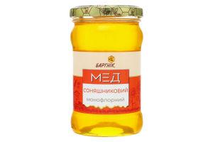 Мед монофлорный Подсолнечный Бартнік с/б 400г