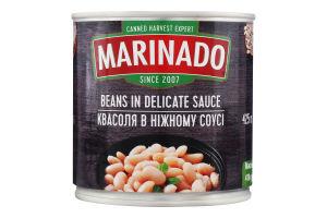 Квасоля в ніжному соусі Маринадо з/б 410г