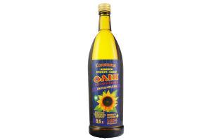 Олія соняшникова сиродавлена першого холодного віджиму Соняшки с/пл 0.5л