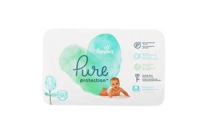Подгузники детские 2-5кг Pure protection Pampers 35шт