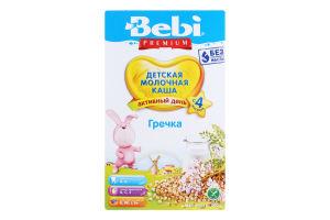 Каша молочна для дітей від 4міс Гречка Premium Bebi к/у 200г