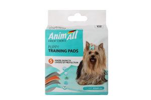 Пелюшки для собак та цуценят 60х60см AnimAll 10шт