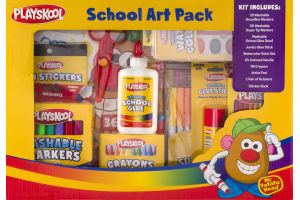Playskool School Art Pack