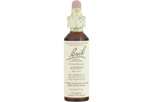 Bach Original Flower Remedies Aspen