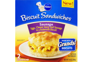 Pillsbury Sausage, Egg and Cheese Biscuit Sandwiches