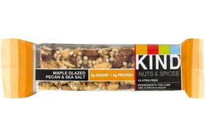 KIND Nuts & Spices Bar Maple Glazed Pecan & Sea Salt