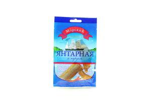 Янтарная солено-сушеная с перцем спинки с/ш Морские м/у 20г
