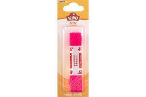 Kiwi Fun 45'' Flat Laces Neon