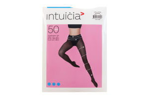 Колготки жіночі Intuicia Support 50den 2 black
