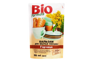 Бальзам д/посуды д/п горчица Bio 500мл