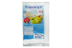 Каша сухая молочная с фруктами для детей от 5мес Манная Карапуз 400г
