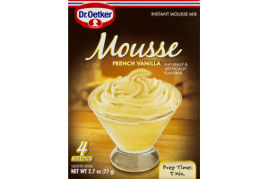 Dr. Oetker Mousse French Vanilla Instant Mousse Mix