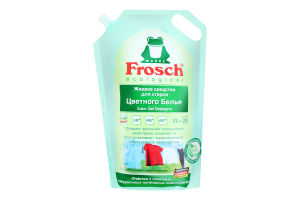 Средство жидкое для стирки цветного белья Frosch 2л