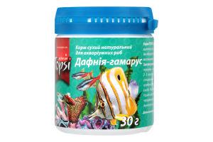 Корм сухой натуральный для аквариумных рыб Дафния-гамарус Topsi п/у 30г
