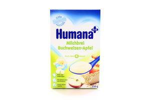 Каша Humana молочна гречана з яблуками 250г х5