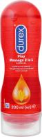 Гель-смазка интимная Play Massage 2in1 Durex 200мл