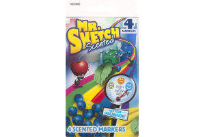 Mr. Sketch Scented Markers - 4 CT