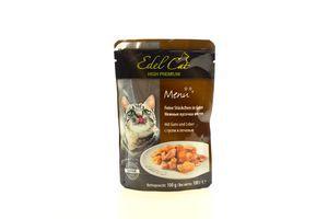 Консерва Edel Cat для котів Гусак з печінкою в желе 100г