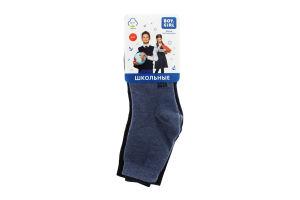 Шкарпетки дитячі Boy&Girl №050 18-20 асорті 3 пари