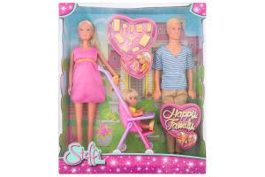 Набор кукол для детей от 3-х лет №3200 Happy family Steffi love Simba 1шт