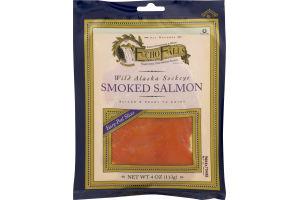Echo Falls Wild Alaska Sockeye Smoked Salmon