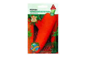 Семена Морковь Красный великан Агрок.10г