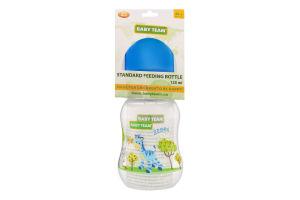 Бутылочка для кормления для детей от рождения с силиконовой соской 125мл №1111 Baby Team 1шт