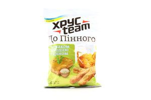 Сухарики со вкусом холодца с хреном К пенному ХрусTeam м/у 90г