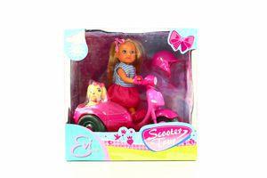 Игрушка Кукла Еви Прогулка на скутере Simba
