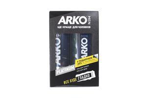 Arko набір MEN Platinum Protection (гель д/гоління 200мл+гель д/душу 250мл зі зниж. 25%)