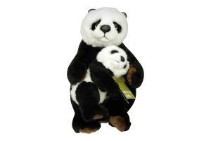 Игрушка мягкая WWF Панда и ее малыш 28см D*1