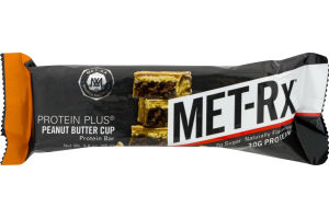 MET-Rx Protein Plus Protein Bar Peanut Butter Cup