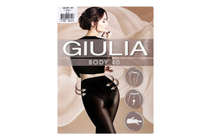 Колготки жіночі Giulia Body 40den 4-L nero
