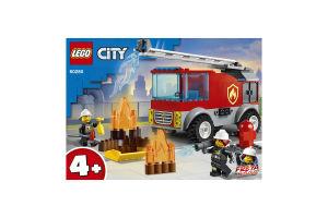Конструктор для детей от 4лет №60280 Fire Ladder Truck City Lego 1шт