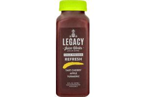 Legacy Juice Works Cold Pressed Juice Refresh