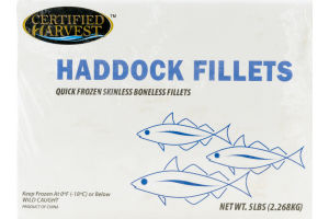 Certified Harvest Haddock Fillets