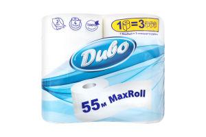 Туалетная бумага 2 слоя MaxRoll Диво 4шт